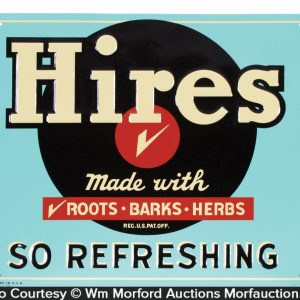 Hires Tin Sign