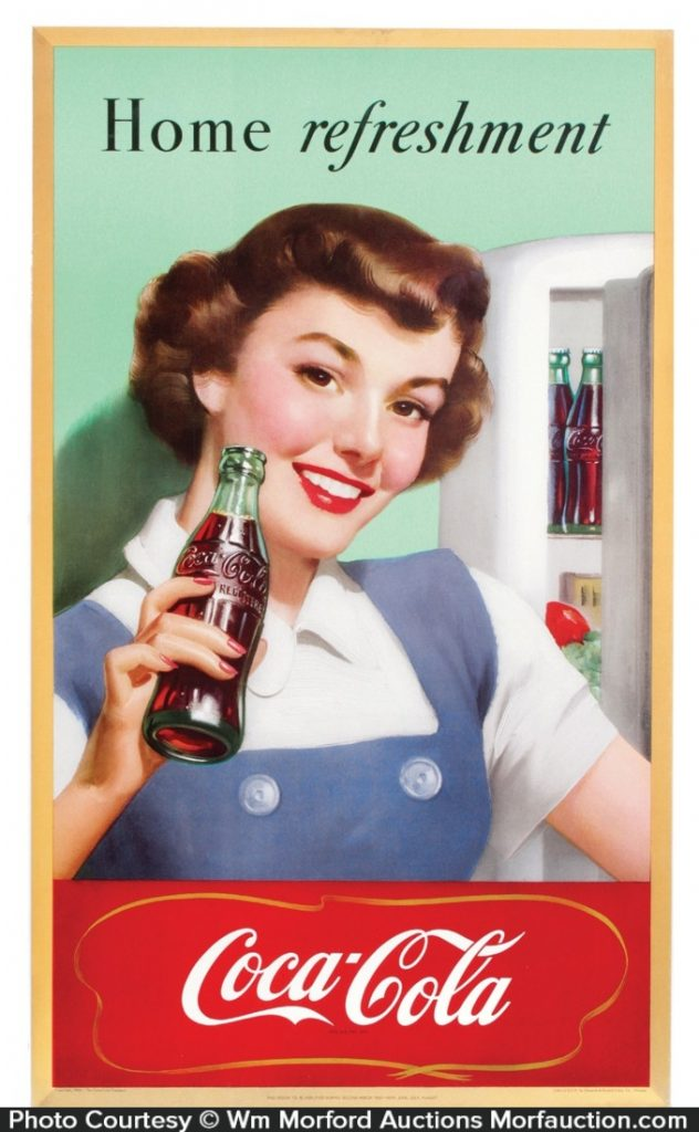 1950 Coca-Cola Sign