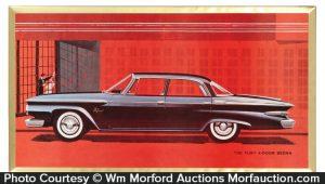 Plymouth Fury Sedan Sign