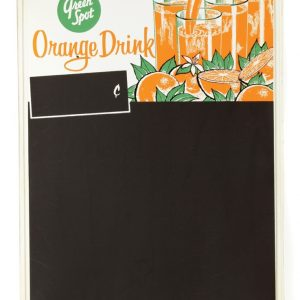 Green Spot Orange Drink Chalkboard