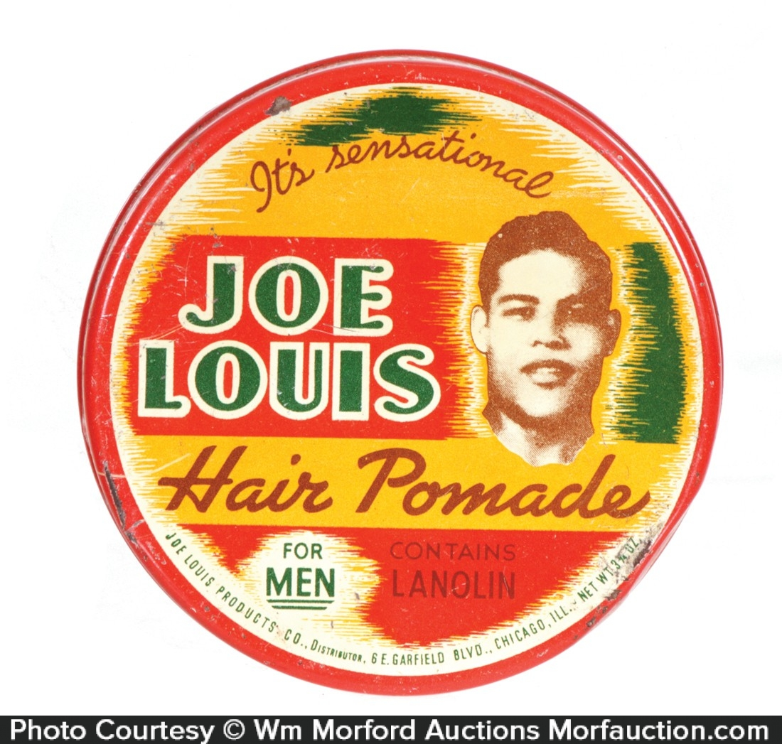 Joe Louis Hair Pomade Tin