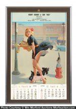 1956 Pin-Up Calendar