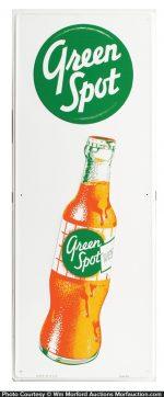 Green Spot Soda Sign