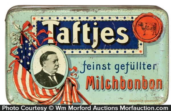 Taftjes Candy Tin