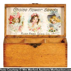 Rush Park Seed Company Box