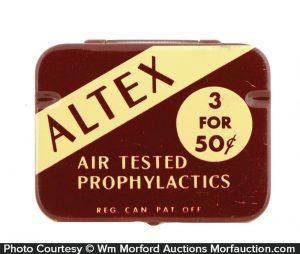 Altex Prophylactics Tin