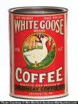 White Goose Coffee Tin