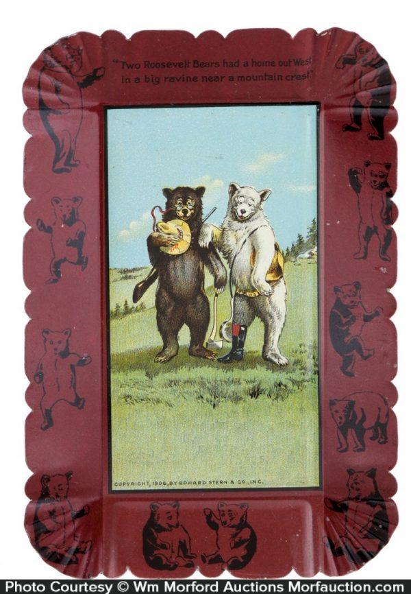 Roosevelt Bears Tip Tray