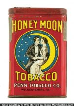 Honey Moon Tobacco Tin
