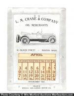 Oil Merchants Calendar