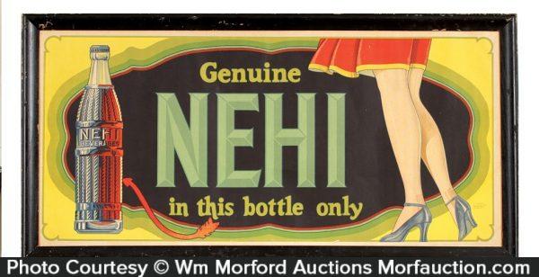 Nehi Soda Sign