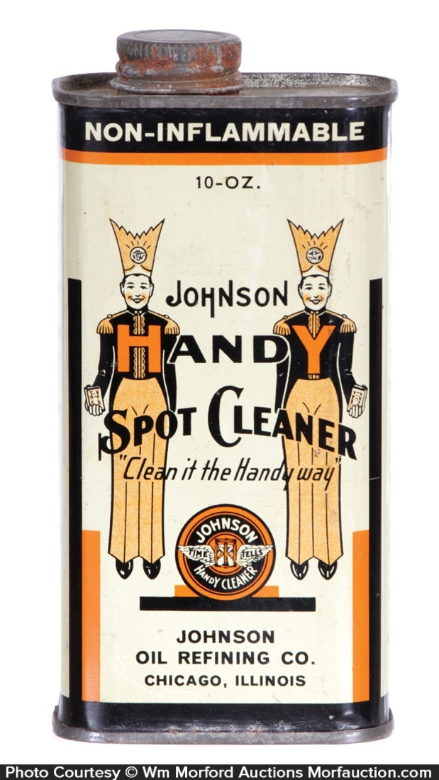 Johnson Handy Cleaner Tin