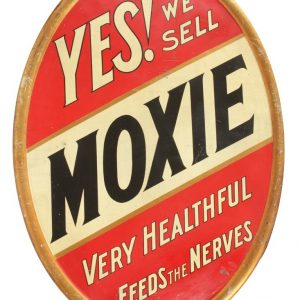 Moxie Soda Sign