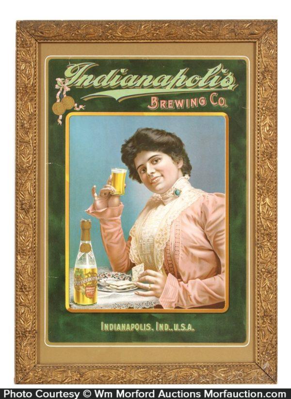 Indianapolis Brewing Company Sign