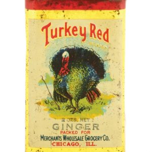 Turkey Red Spice Tin