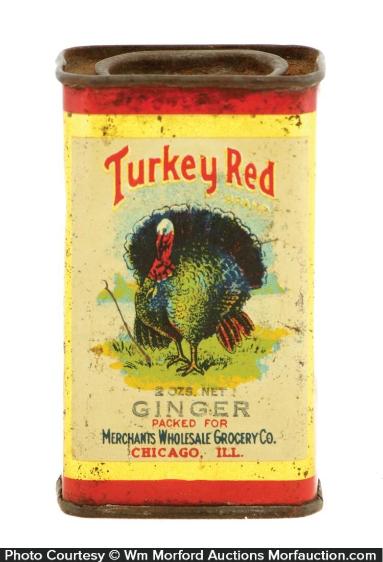 Turkey Red Spice Tin