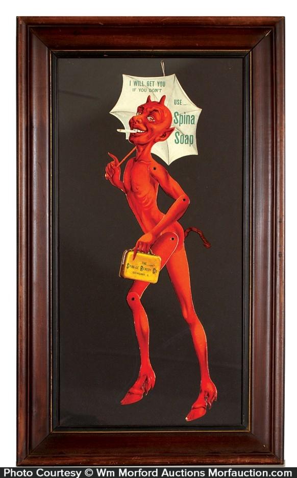 Spina Soap Devil Sign