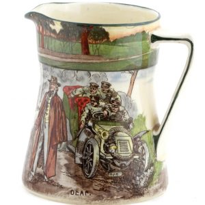 Royal Doulton Motorist Pitcher