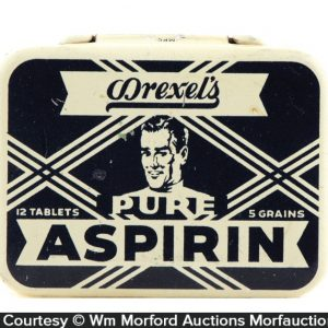 Drexel's Aspirin Tin