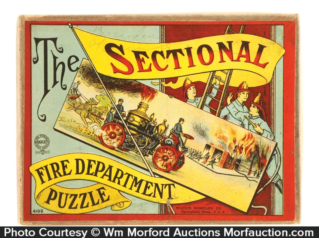 Sectional Fire Department Puzzle