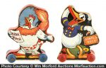 Vintage Fisher-Price Disney Toys