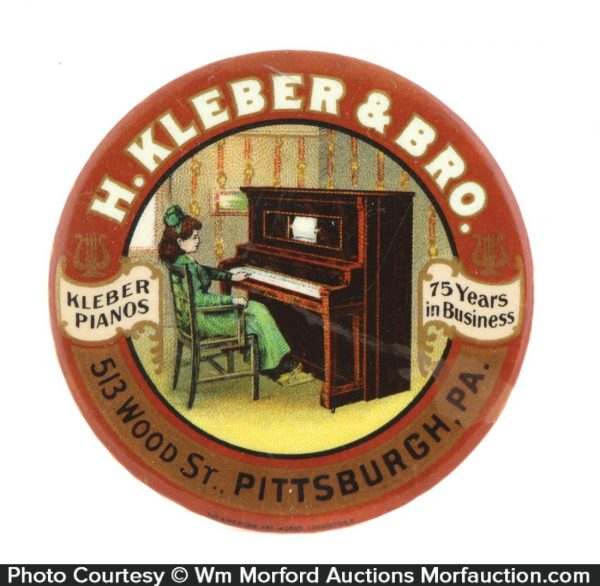 Kleber Pianos Pocket Mirror