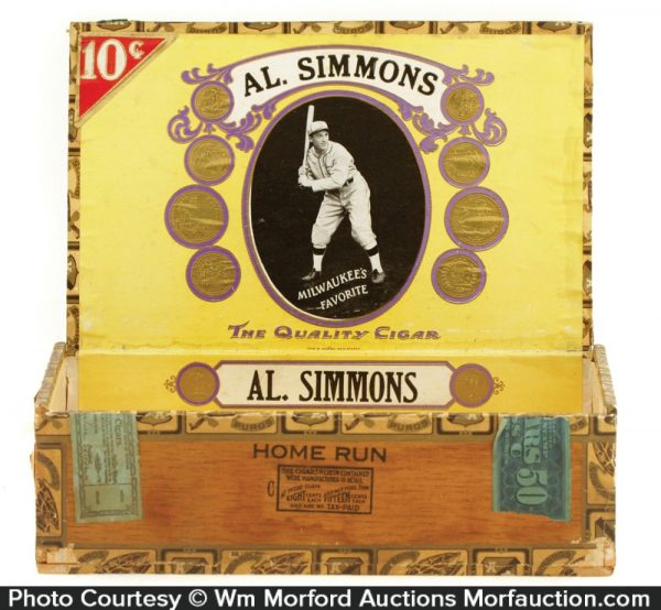 Al Simmons Cigar Box
