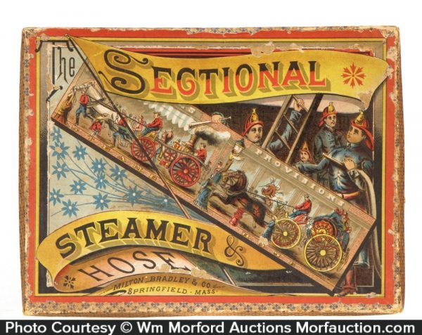 Steamer & Hose Fire Puzzle