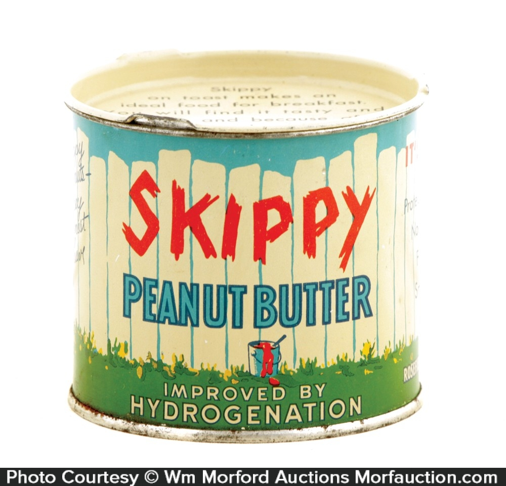 Skippy Peanut Butter Tin