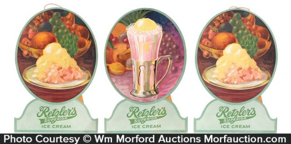 Retgler's Ice Cream Signs