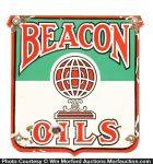 Beacon Oils Porcelain Sign
