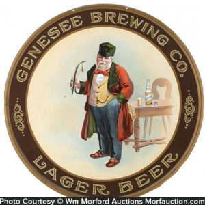 Genesee Brewing Company Sign