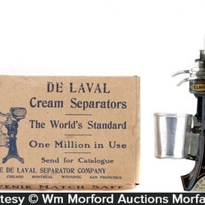 De Laval Cream Separators Match Holder