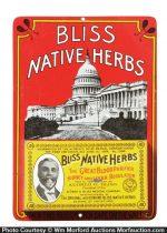 Bliss Native Herbs Match Holder