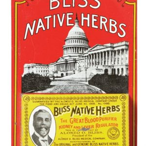 Bliss Native Herbs Match Holder