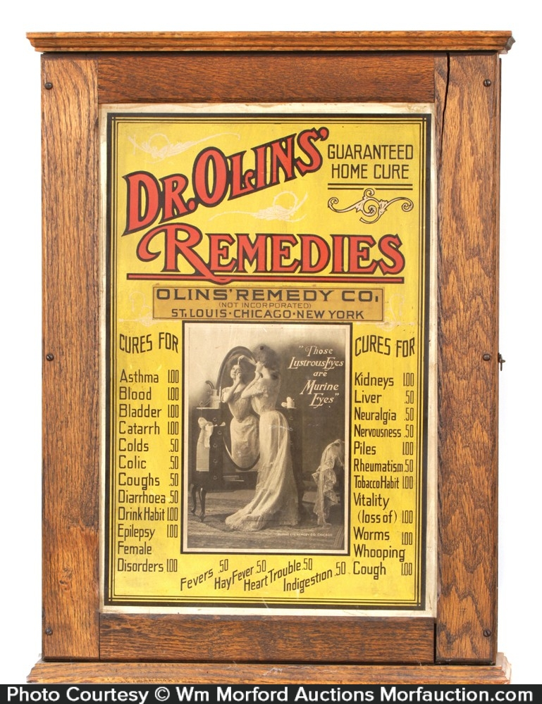 Dr. Olin's Remedies Cabinet