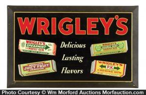 Wrigley's Gum Sign