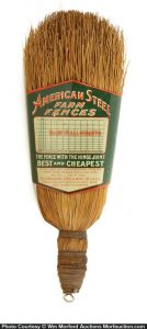 American Steel Fences Broom Holder