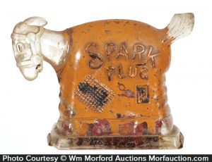 Spark Plug Candy Container