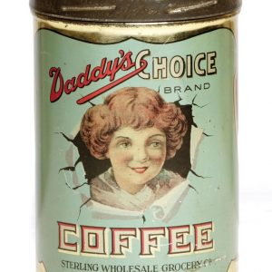 Daddy's Choice Coffee Can