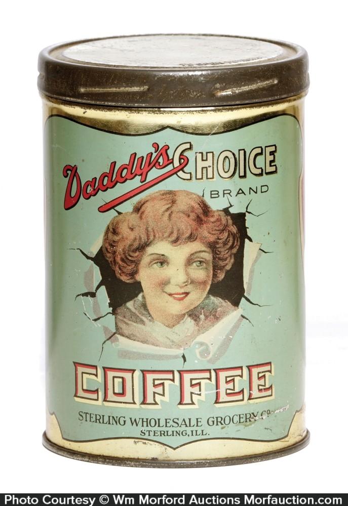 Daddy's Choice Coffee Can