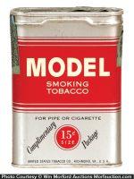 Model Sample Tobacco Tin