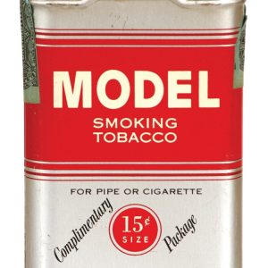Model Sample Tobacco Tin