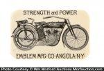 Emblem Motorcycle Pocket Mirror