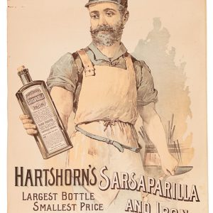Hartshorn's Sarsaparilla Sign