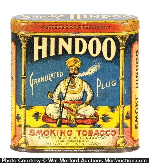 Hindoo Tobacco Tin