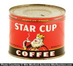 Star Cup Coffee Can