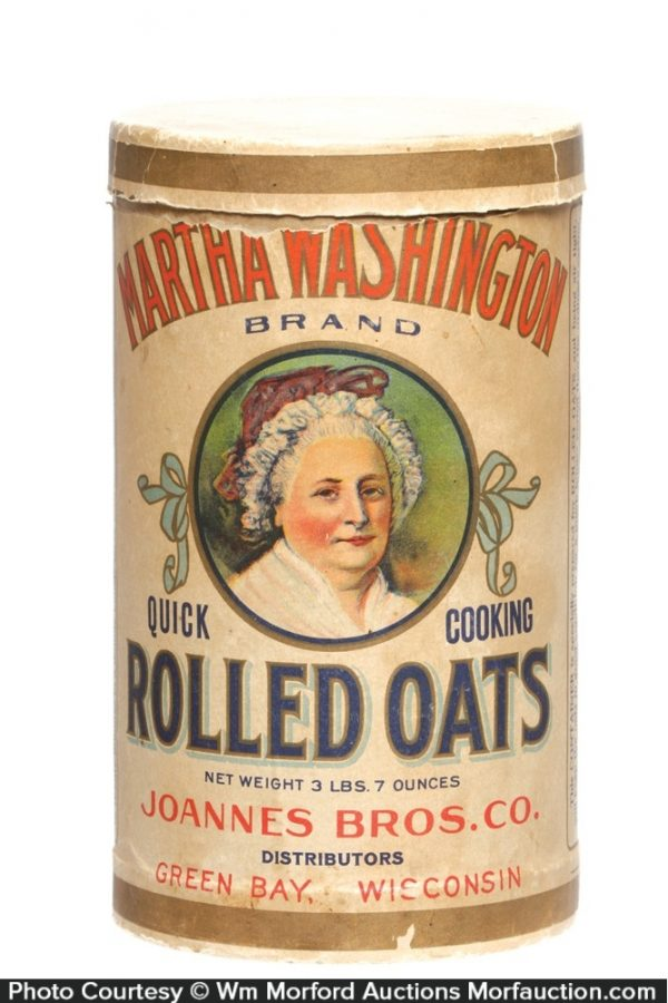 Martha Washington Oat Box