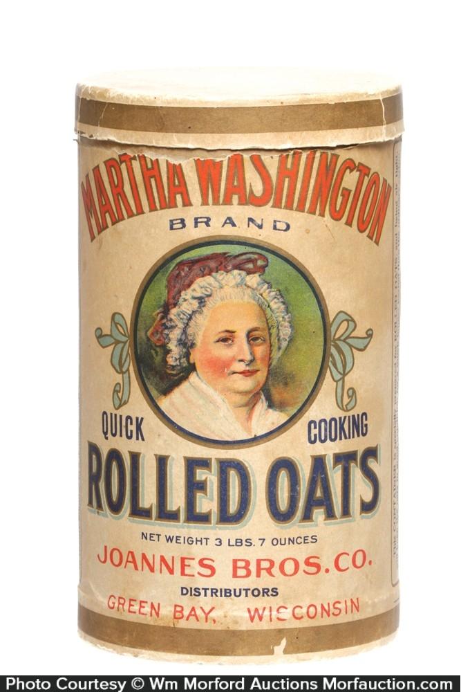 Martha Washington Oat Box