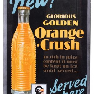 Orange Crush Sign